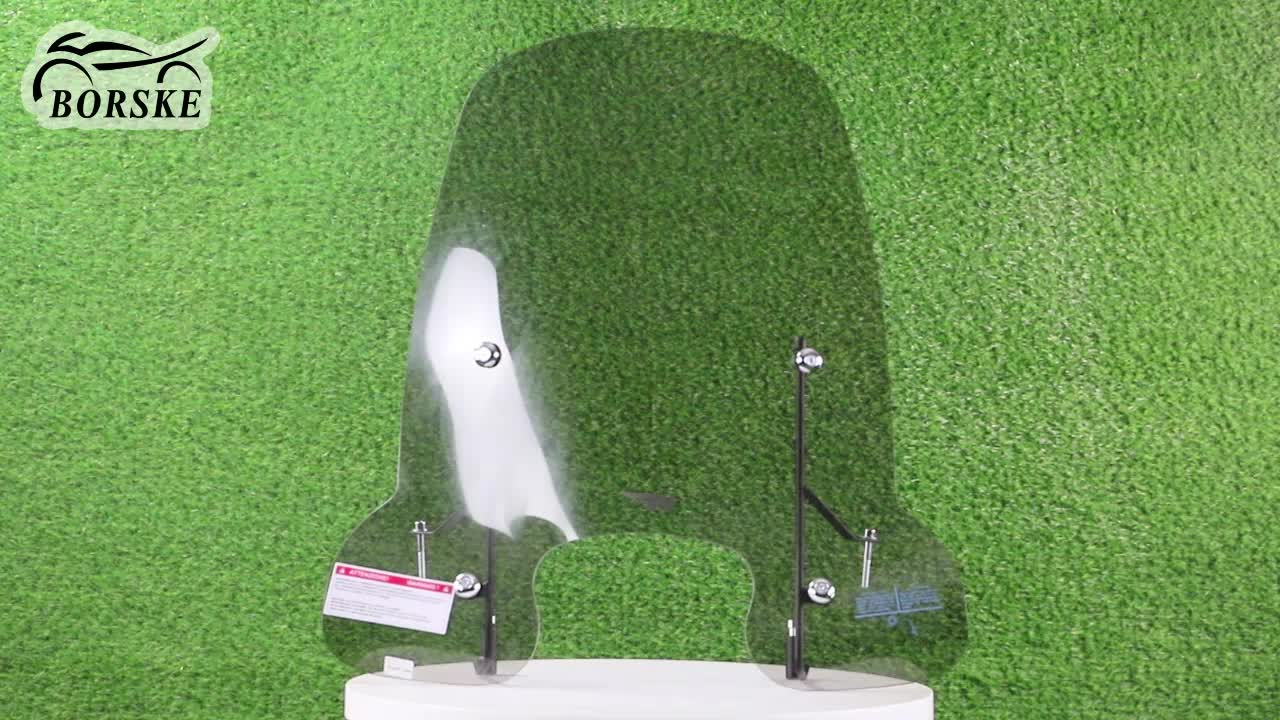 China Peugeot Scooter Motorcycle Windshield Windscreen spare parts for Peugeot Tweet EVO