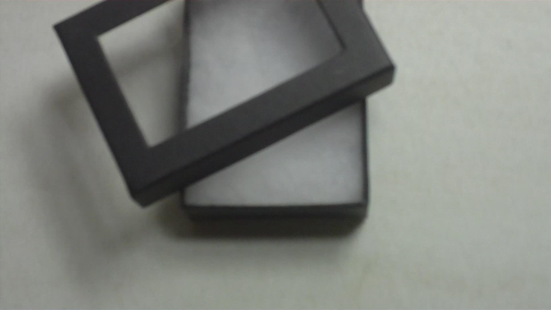 Heißer silber stanzen und geprägt angepasst faltbare paket box