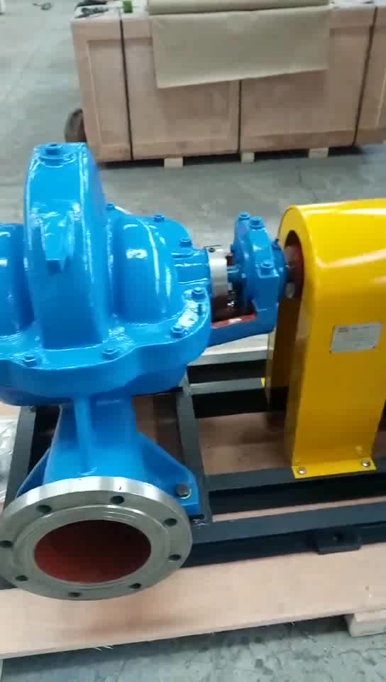 High Pressure 3 inch 6 inch Electric Motor Double Suction 200 gpm 1000 GPM Water Pump