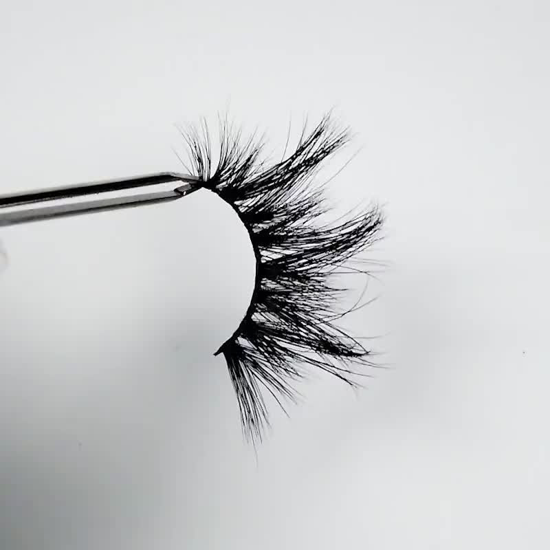 whole sale 100% real mink thick lashes