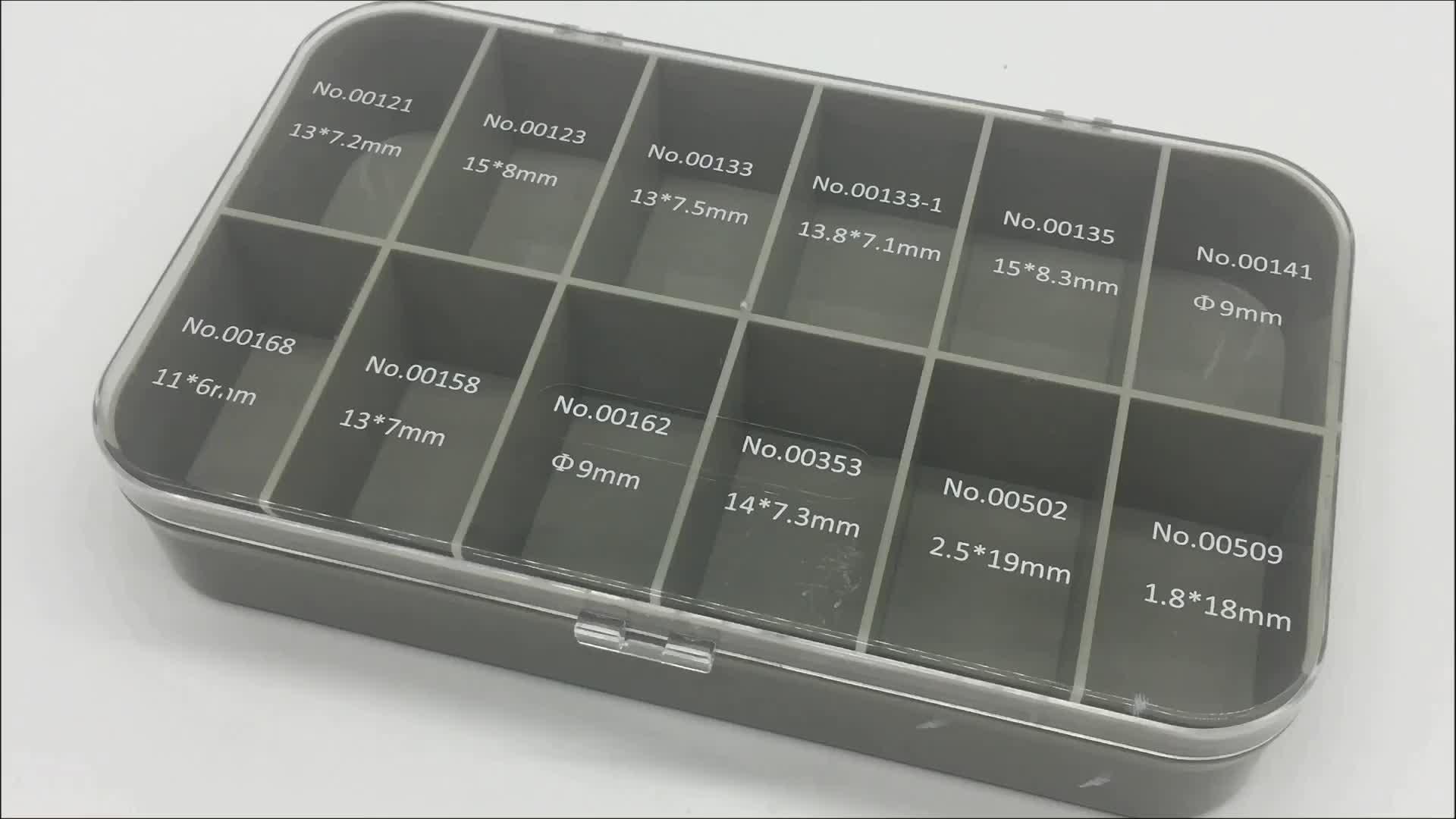 Professionelle brillen accessoires silikon PS/ABS injection kunststoff nase pads set kunststoff lagerung box