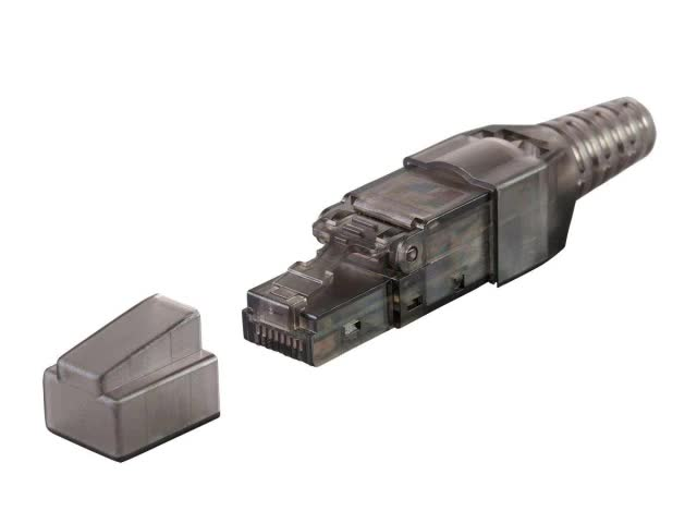 Cat7 aletsiz fiş/cat7 rj45 ftp tak
