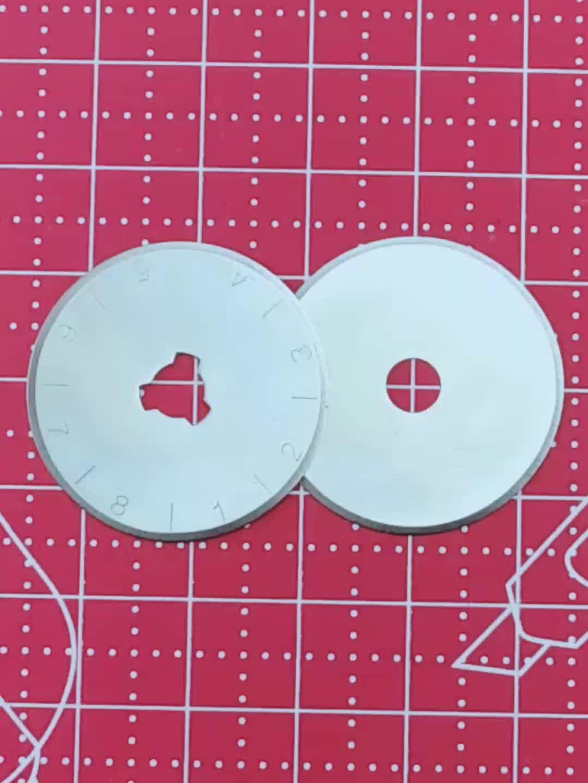 工場直接販売 28 ミリメートル SKS7 ロータリーカッター刃