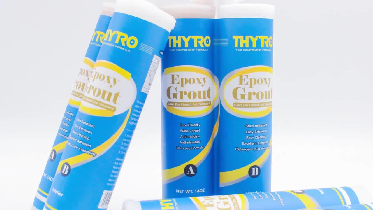 Goede Verkoop Indoor Gebruikt Epoxy Stain Repellent Gekleurde Keramische Tegel Grout Met Milieuvriendelijke Top Kwaliteit Kit Bruin Siliconen Adhe