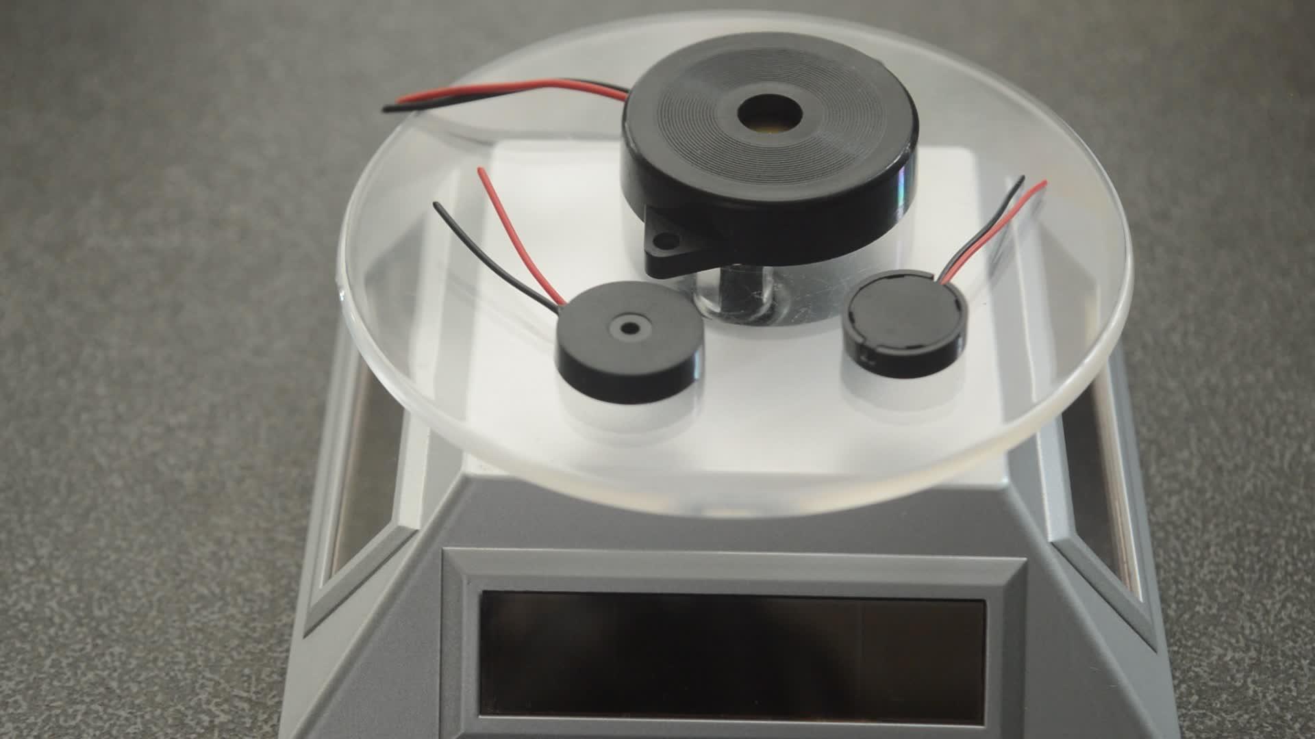 34mm piezo buzzer 3 V con dos cables de piezo fabricación