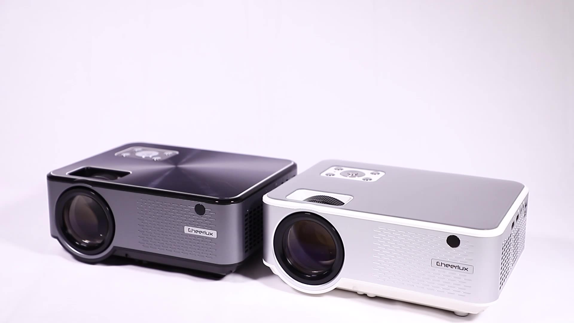 Cheerlux Pocket Projector Native 720p Support 1080p 1280*800 Home Cinema 2800 lumens HD Mini Projector LED Proyector
