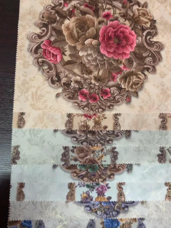 China jiaxing hai ning heißer verkauf niedrigen preis 100 polyester mikrofaser geprägt samt 9000 heimtextilien sofa polster stoff