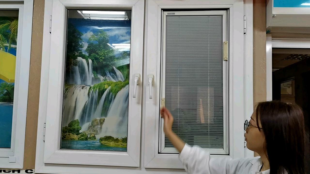 ऊर्जा की बचत डबल ग्लास पीवीसी/UPVC प्रोफ़ाइल ख़िड़की आवासीय विंडोज, पीवीसी/UPVC खिड़कियों और दरवाजों के लिए घर