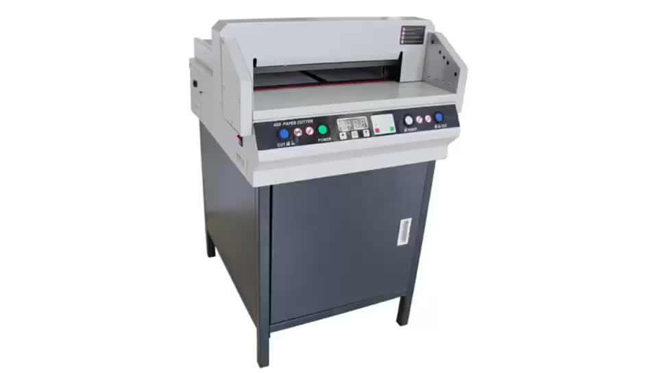 450 Digital Control A3 Size Guillotine Cutter/Paper Cutting Machine Price