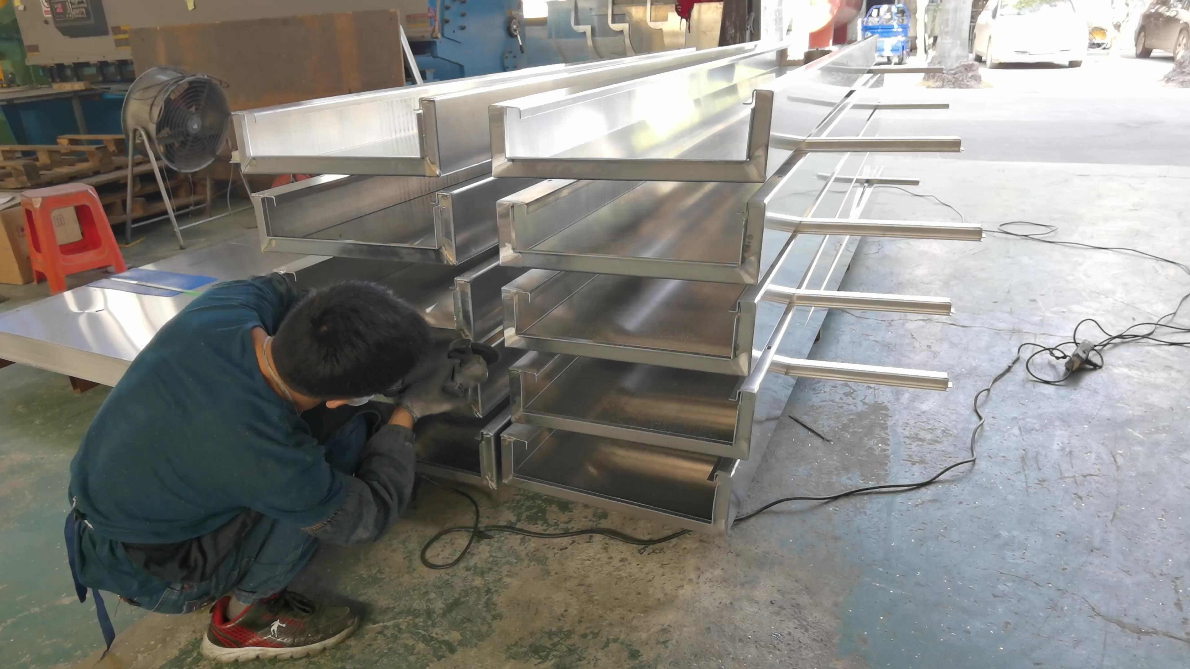 CNC Aluminum decorative wall panel for metal curtain wall & facade
