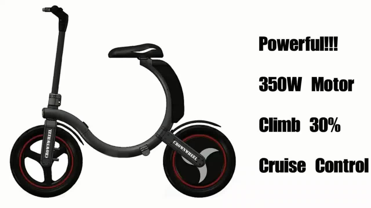 Manke MK114 लोकप्रिय और फैशनेबल उच्च गुणवत्ता 35 km/एच अधिकतम गति पर 14 इंच 450 W मिनी Foldable इलेक्ट्रिक साइकिल गर्म बिक्री