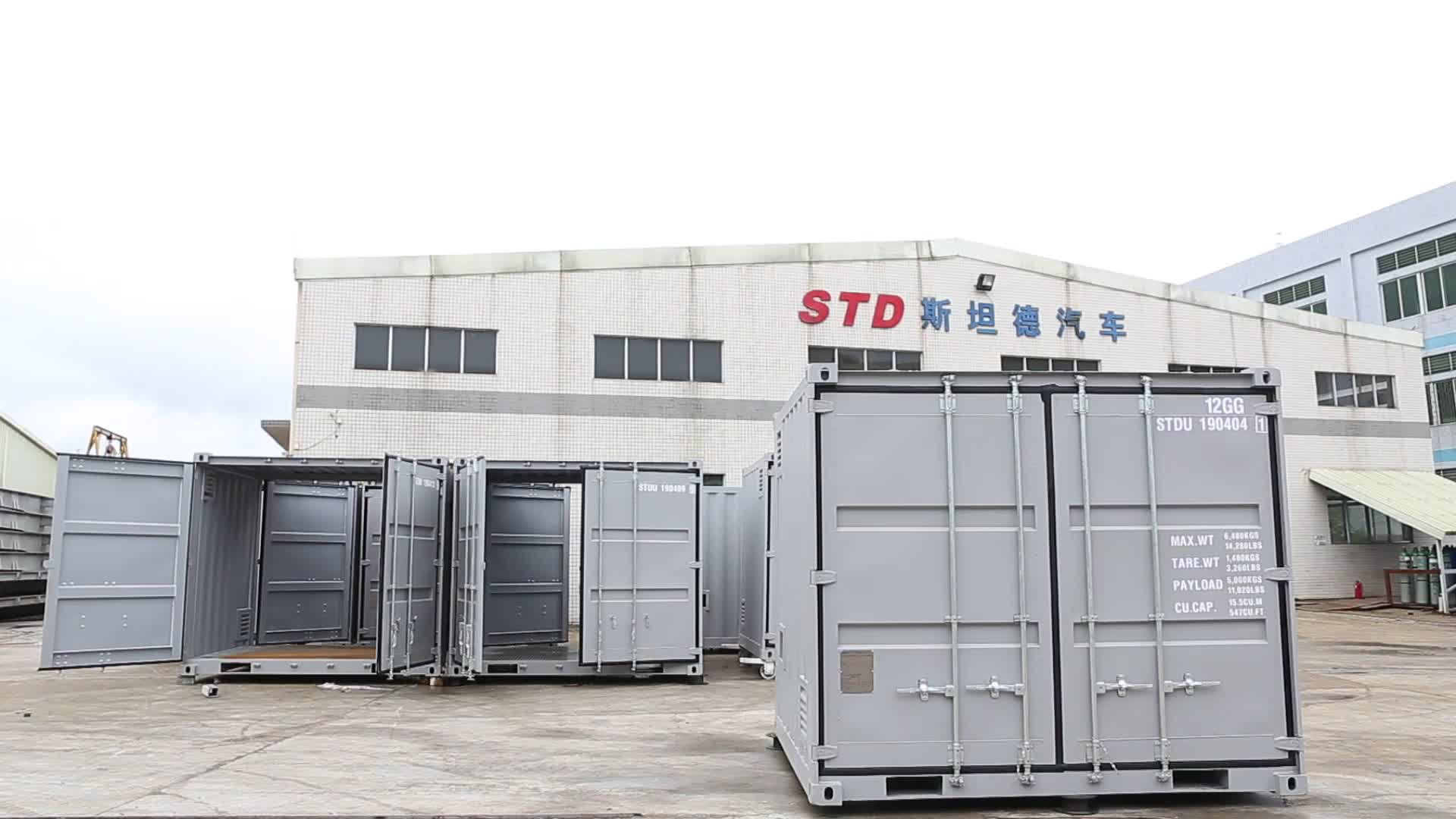China supplier 10 feet ISO shipping container for sale