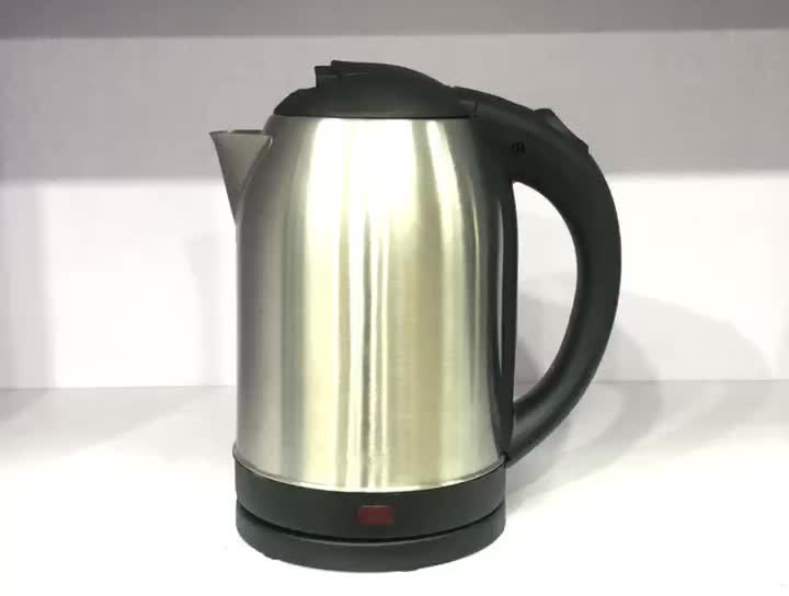 Promotion product China electric automatic water kettle home appliance 220v big stainless steel electric kettle