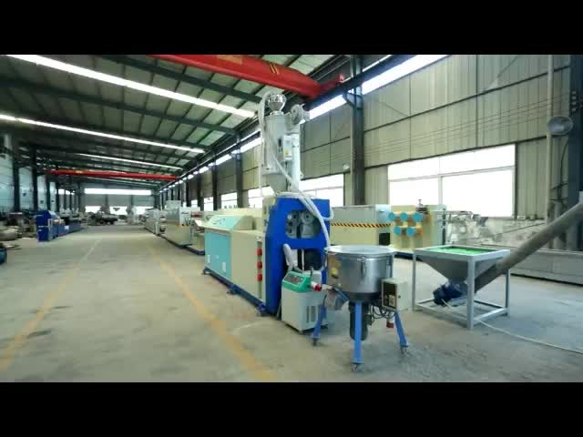 PP PET Plastic Strap Band Making Machine