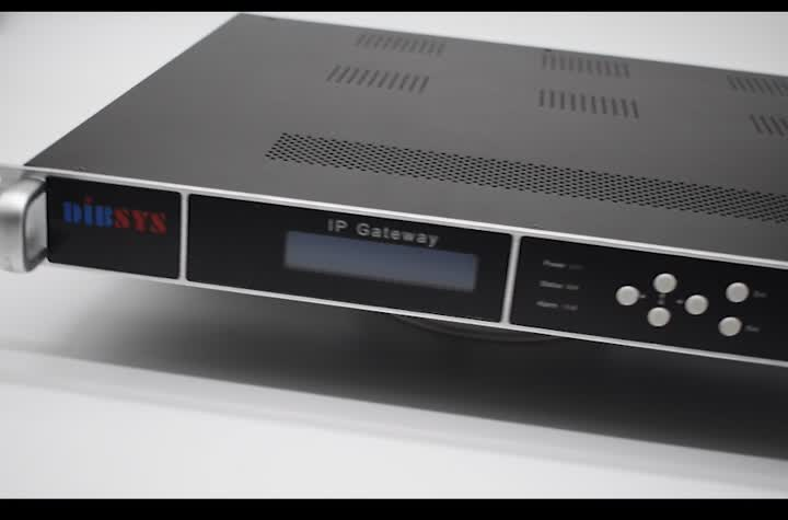 (Q116) Hotel Soluzione IPTV Headend Gateway 16 Sintonizzatore Satellitare Per IP In Diretta Streaming