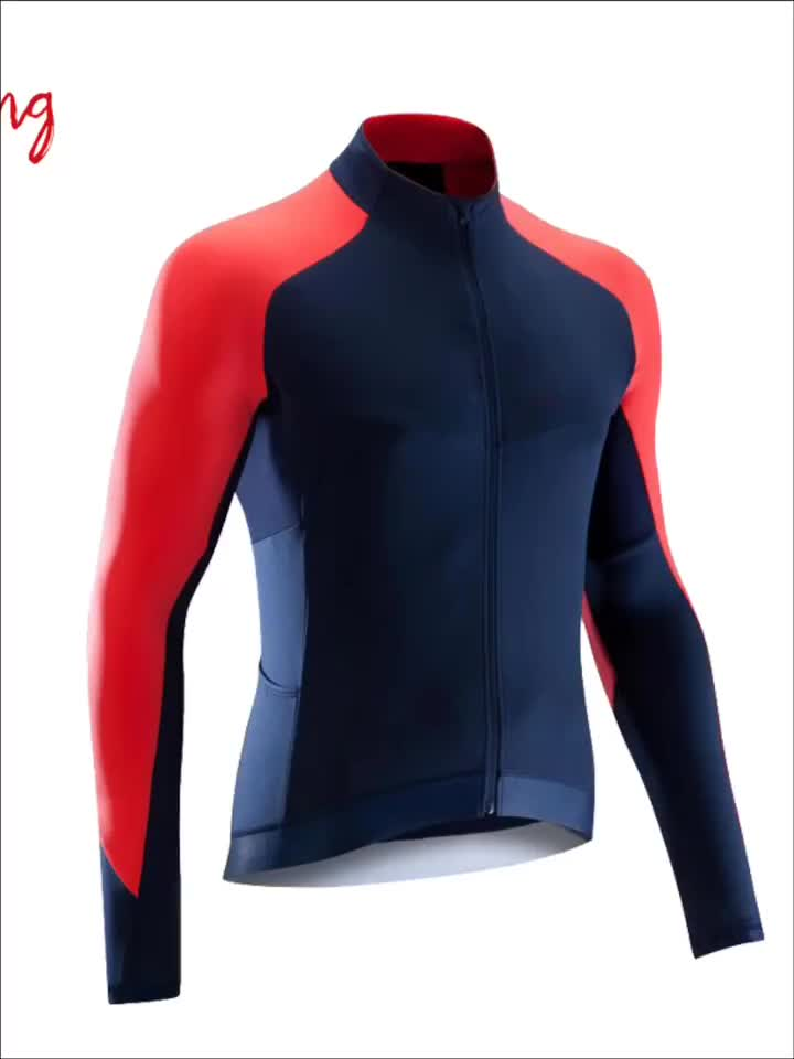New Design Breathable Suitable Bicycle Cycling Wear Sportswear Cycling Jersey