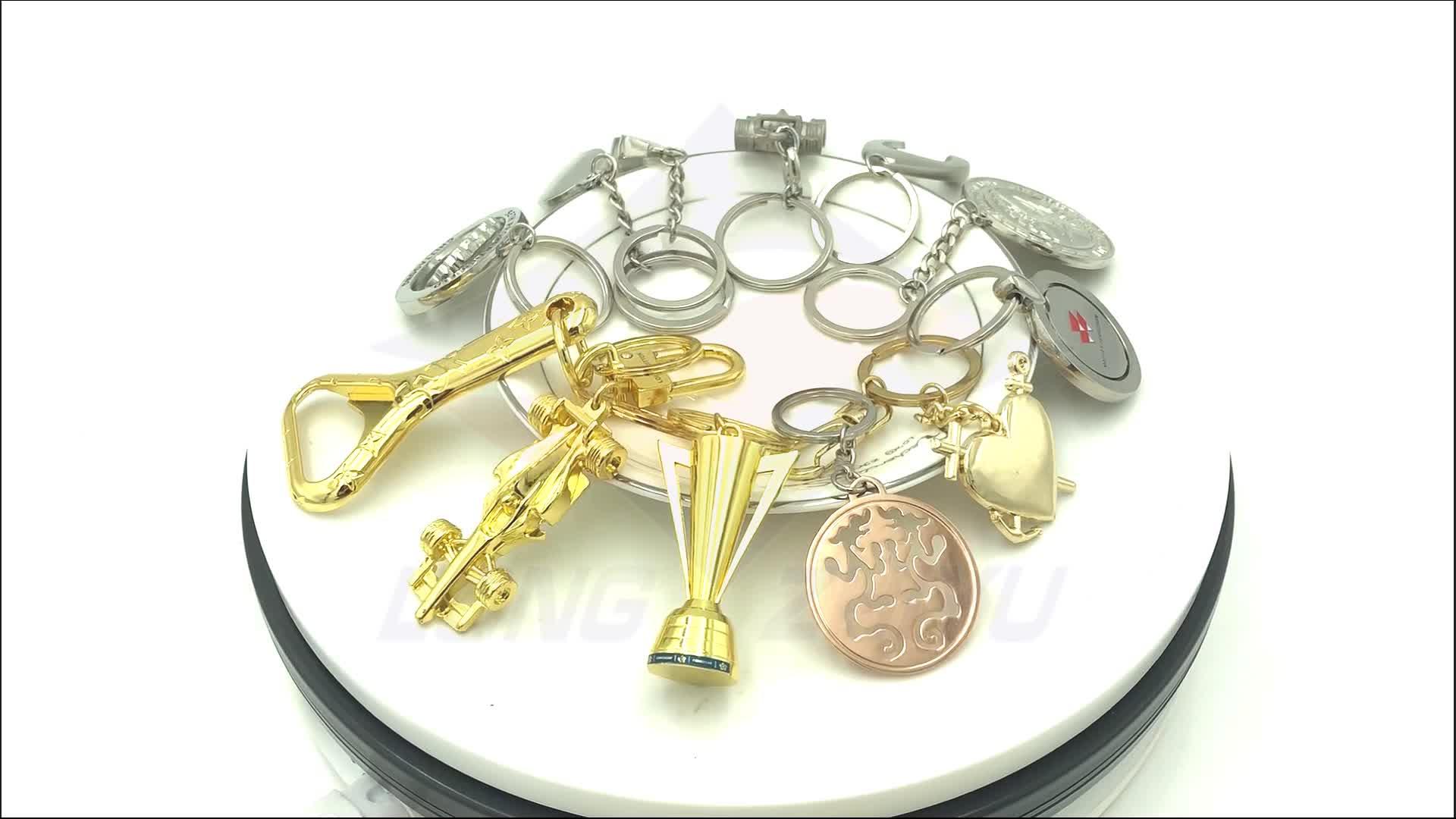 Longzhiyu 14 Years Manufacturer Stethoscope Keychain Spiral