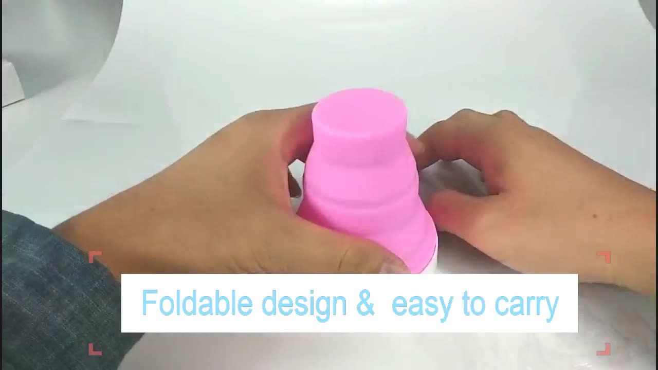 Folding Medical Silicone copa Sterilization and Storage Container Holder cleaner box set containers menstrual cup sterilizer