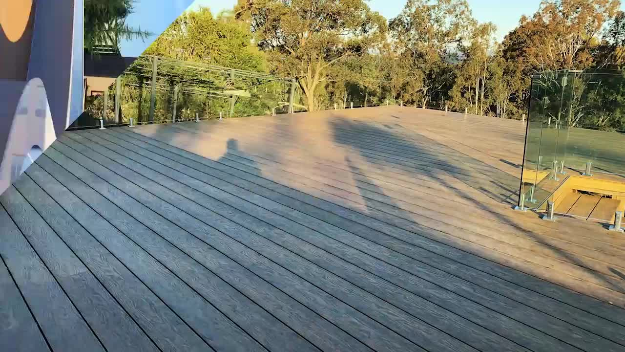 Cheap Weatherresistant Wpc Composite Pool Decking Exterior