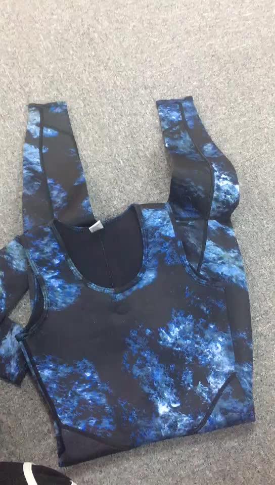 Professionelle Hohe Qualität Beliebte 3mm Neopren Speerfischen Neoprenanzug Tauchen Ganzkörper Anzug Camouflage Neoprenanzug Für Männer