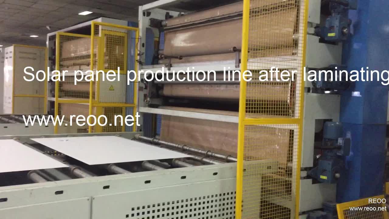 10 MW GÜNEŞ PANELI üretimi için üretim hattı PV modülü yüksek kaliteli yüksek verimli