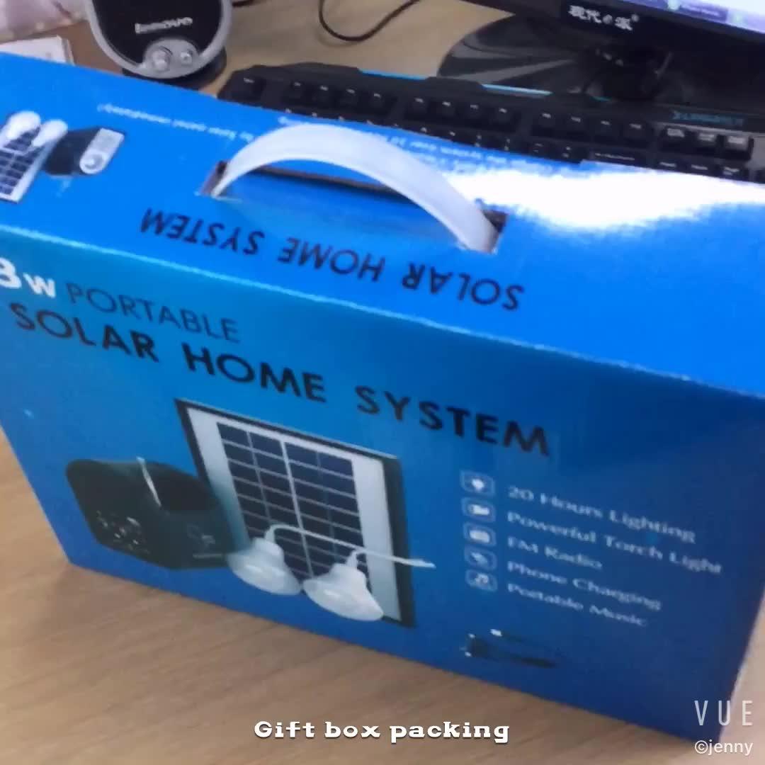 メーカー10ワット小さな太陽エネルギーシステム太陽光発電システム用家電