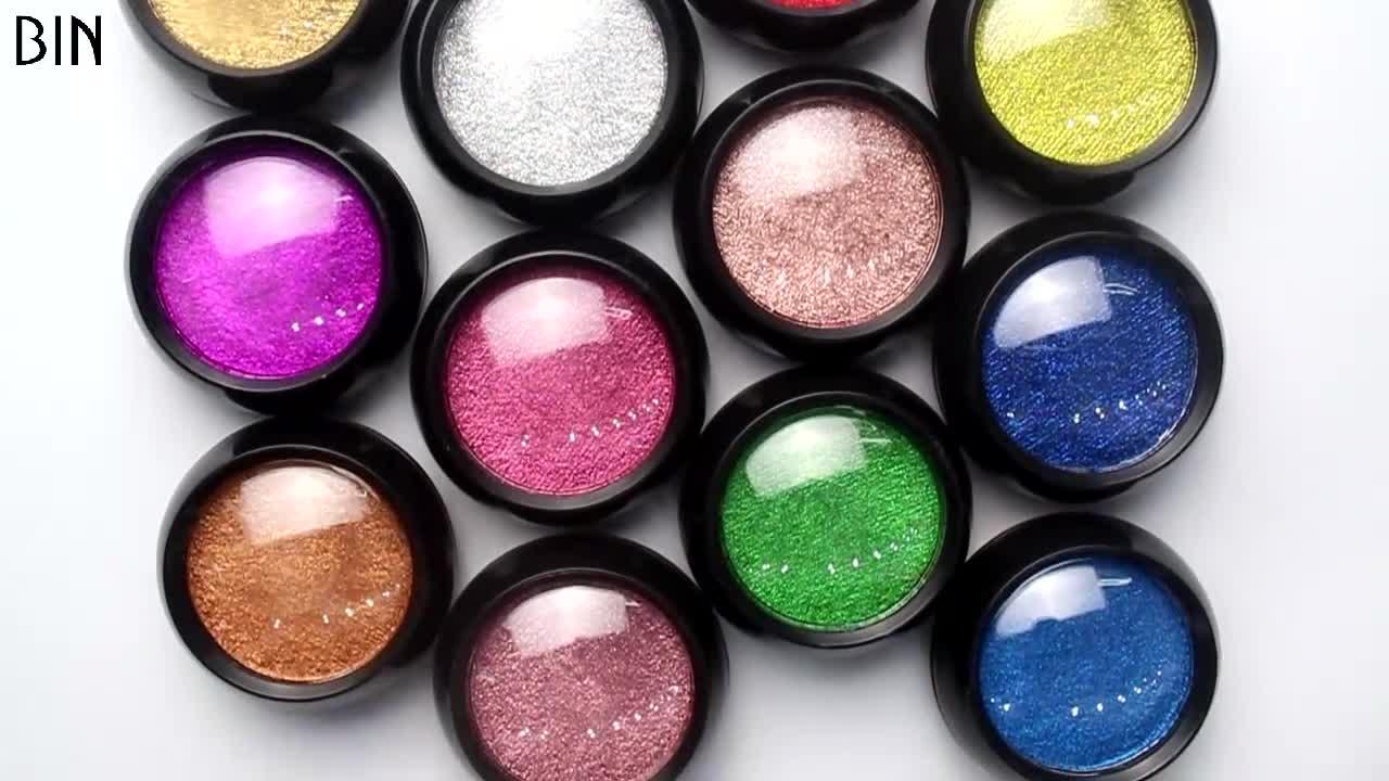 2020 Newest Pigment Powder BIN Brand Mirror Powder For Nails