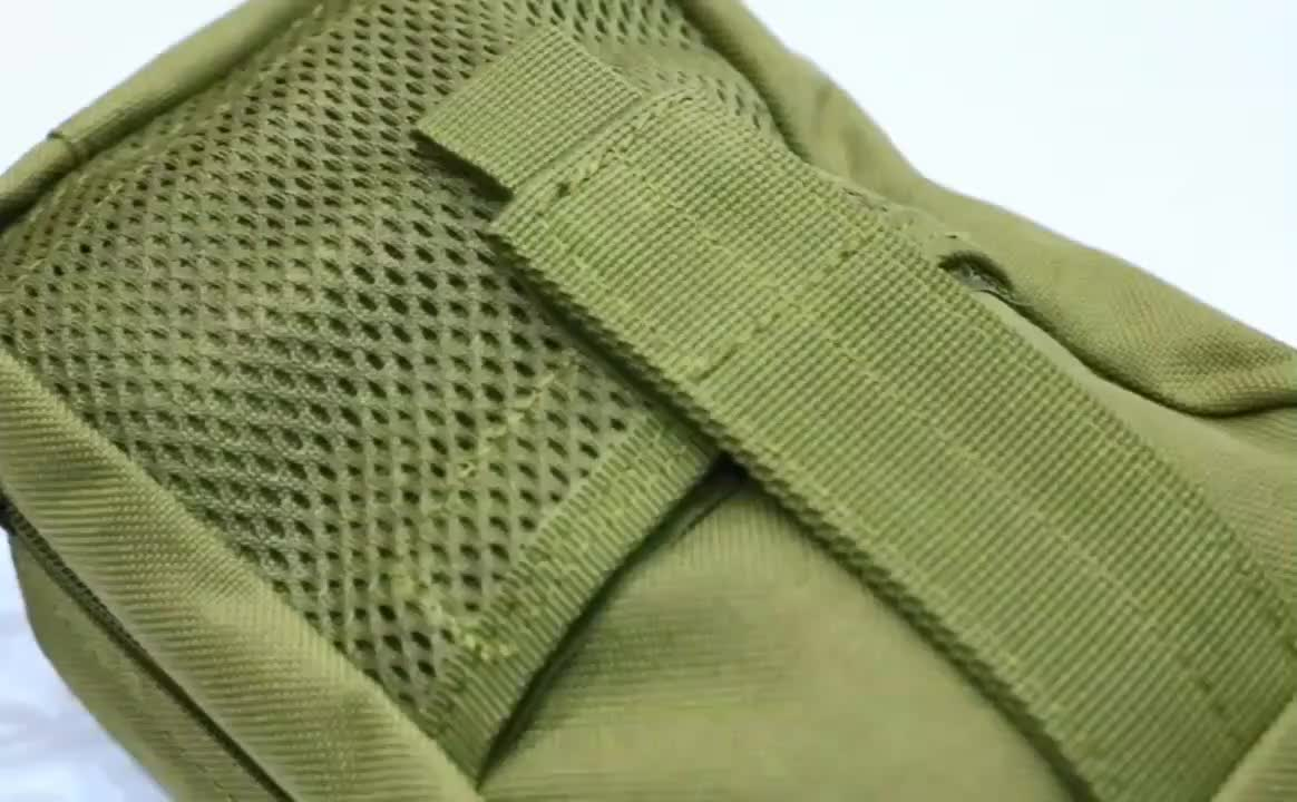 Nylon military medical backpack with waterproof