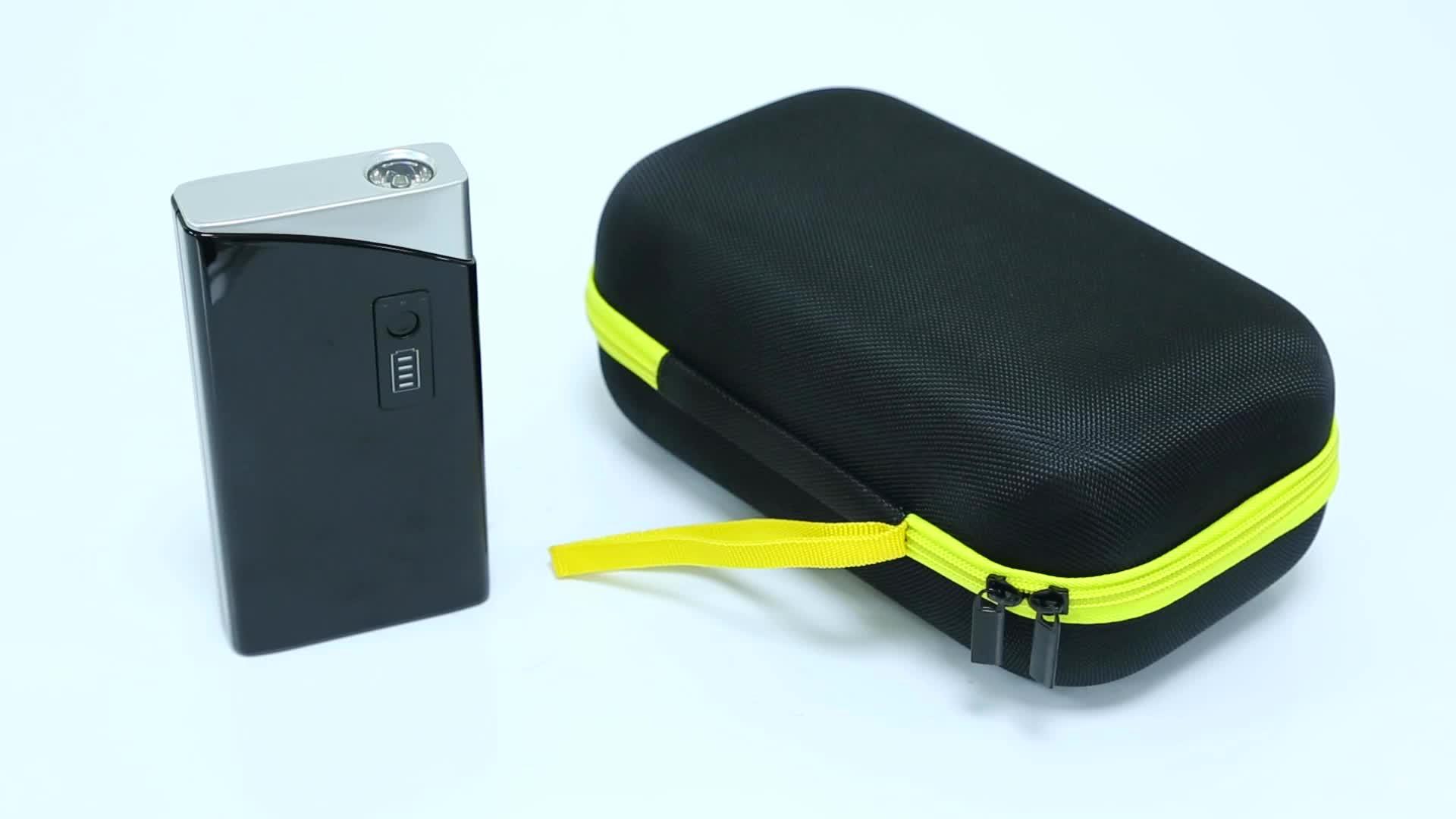 Melompat Starter Mobil Ponsel Puncak Arus 2000A 600A Mobil Jumper 24000 MAh 16800 MAh 12 V Melompat Starter