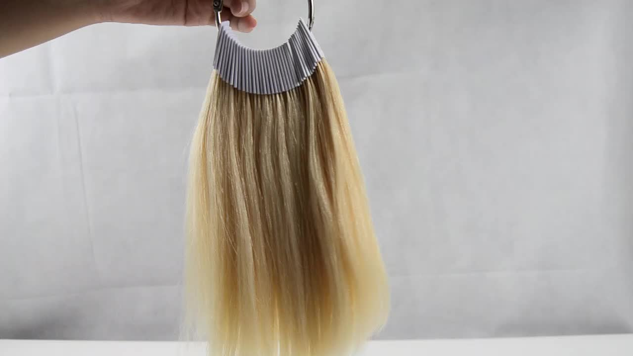 100% Human Hair for Color Testing