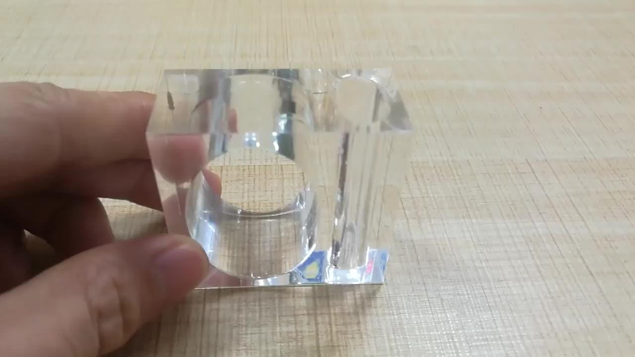 Wholesale Acrylic Napkin Rings with vase ,clear plastic bar napkin holder