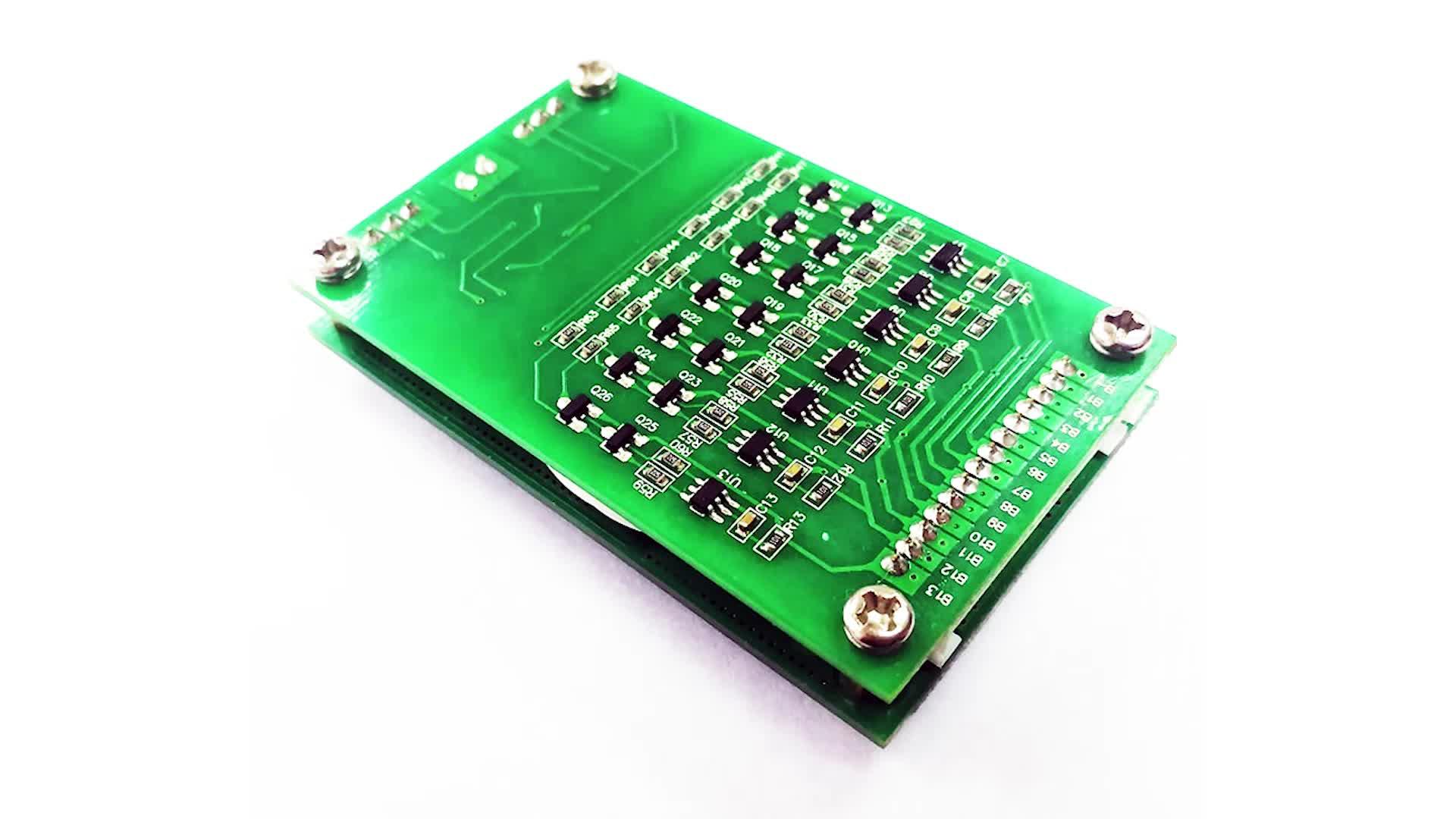 Smart PCB BMS 10S 20A Battery Management System for 36V li-ion battery