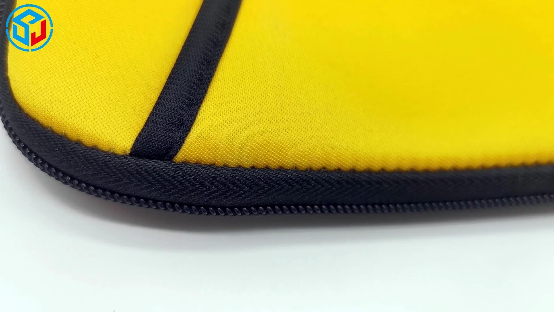 Stampa personalizzata Dimensione Neoprene Impermeabile di Colore Solido Morbido Sacchetto Della Cassa Del Manicotto Del Computer portatile