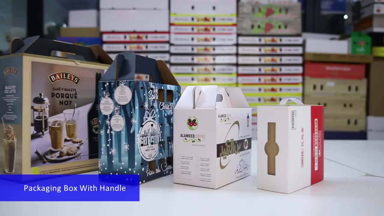 Paperboard Paper Type and Gift&Craft Industrial Use beer or wine shipping carton box