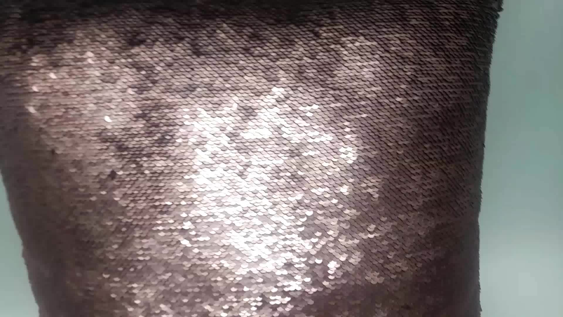 Waterproof spangle pillow sequin cushion  car seat cushion back support cushion
