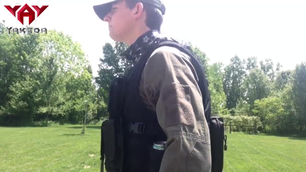 YAKEDA black multicam camouflage wholesale police army chaleco tactico militar bulletproof molle military tactical vest