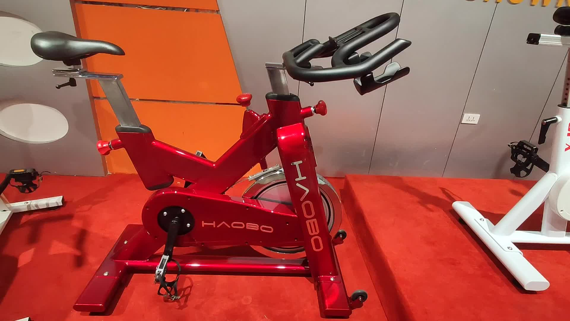 Custom Made Magnetic Resistance Fitness Club Exercise Spinning Bike