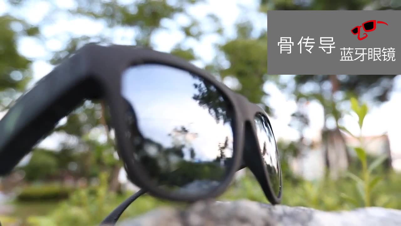 Bone Conduction Open Ear Speaker Sports Polarized Frame Wireless Smart Stereo Sound Audio Music Bluetooth Sunglasses