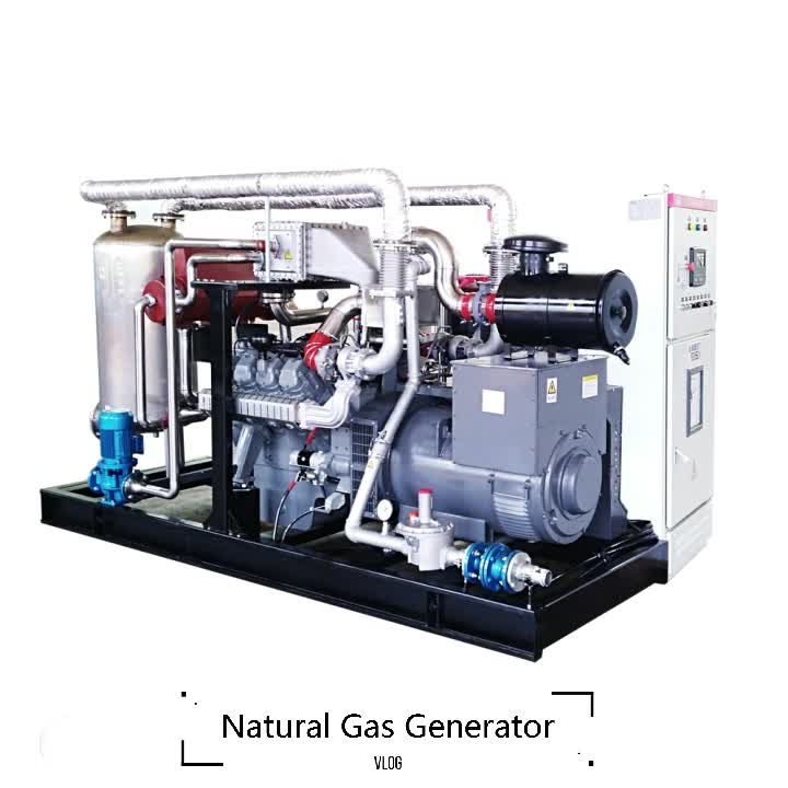 2017 sales promotion 50KW biogas power engine electrical generator set for sale price list