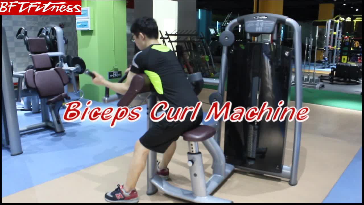 hamstring curl Biceps Curl Fitness Exercise Machine
