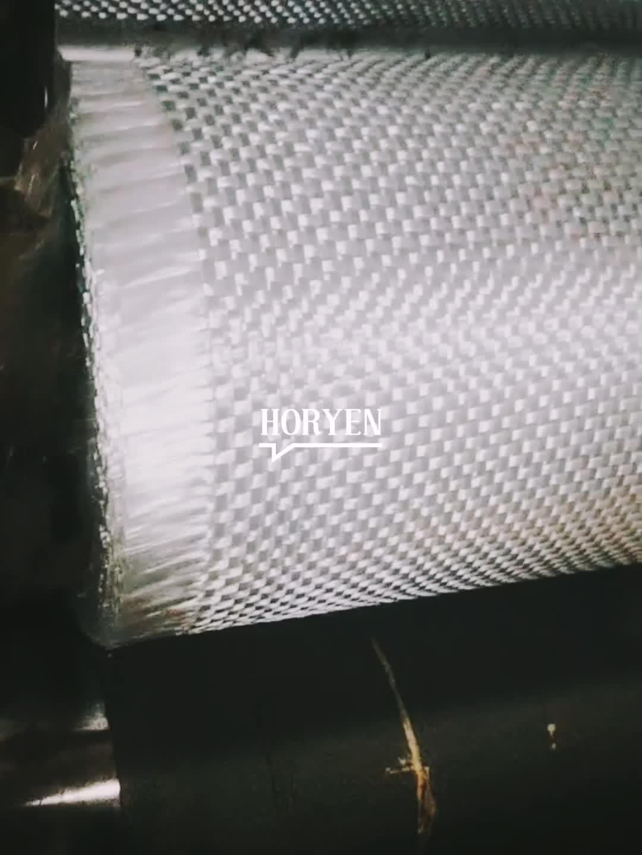 Fabrik herstellung 200gsm fiberglas woven roving stoff