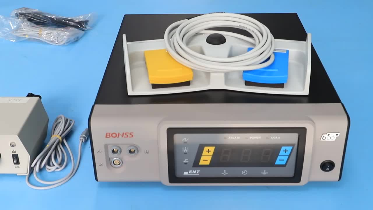 Cold Ablation - BONSS Bipolar Plasma Surgical System for ENT
