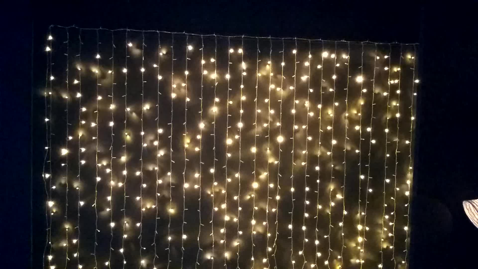 snowflake Led Christmas Decoration Party Fairy Holiday Outdoor String Light