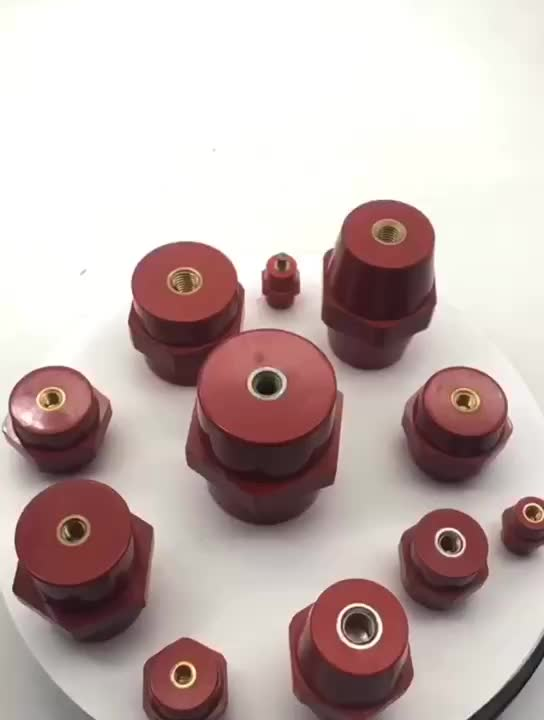 M6 M8 M10 SEP5036 hexagonal insulator connector for low voltage application