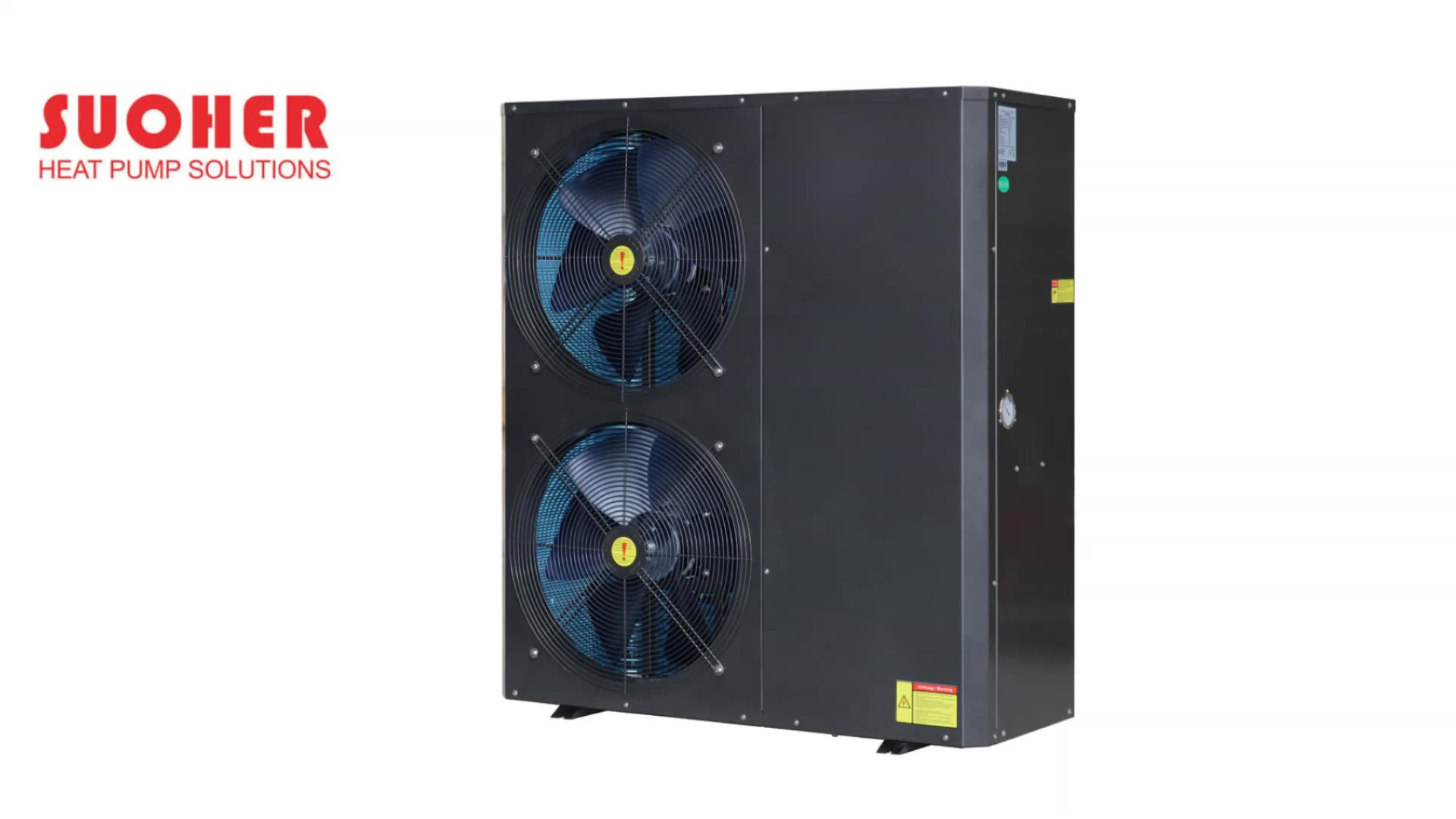 SUOHER evi air to water heat pump For Low Temperature Area with high COP