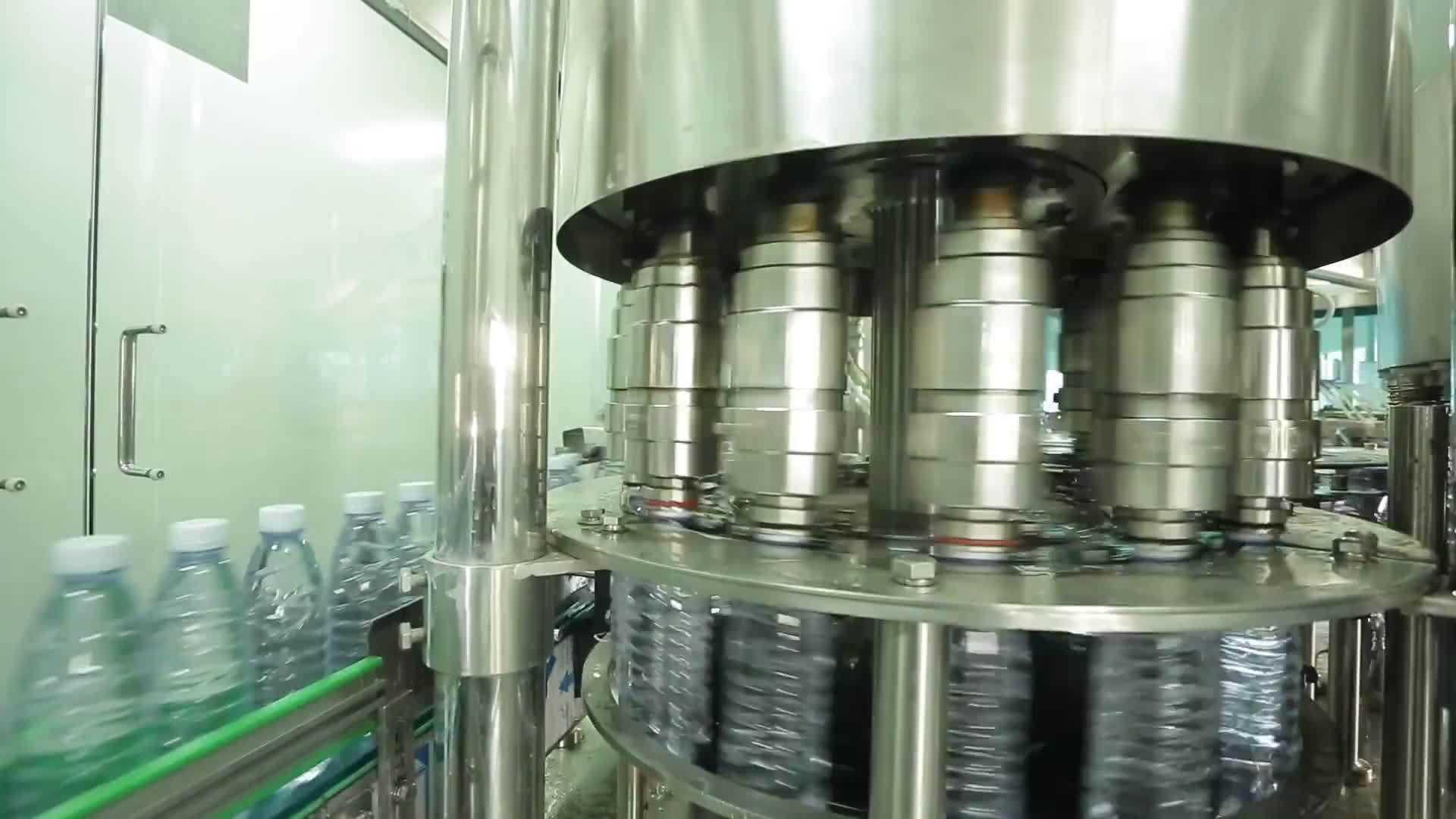 Высокое качество полностью автоматическая Питьевая минеральная вода производственная линия бутилированная машина для наполнения воды