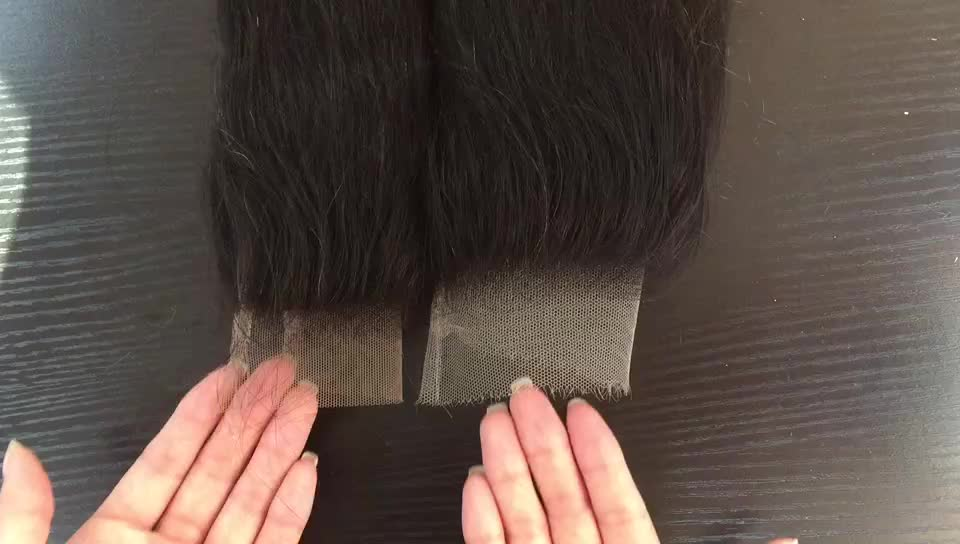 Real Looking Indian HD Lace 5x5 Closure Natural Black Silky Straight HD Invisible Lace Closure 4x4 And 5x5 Restock