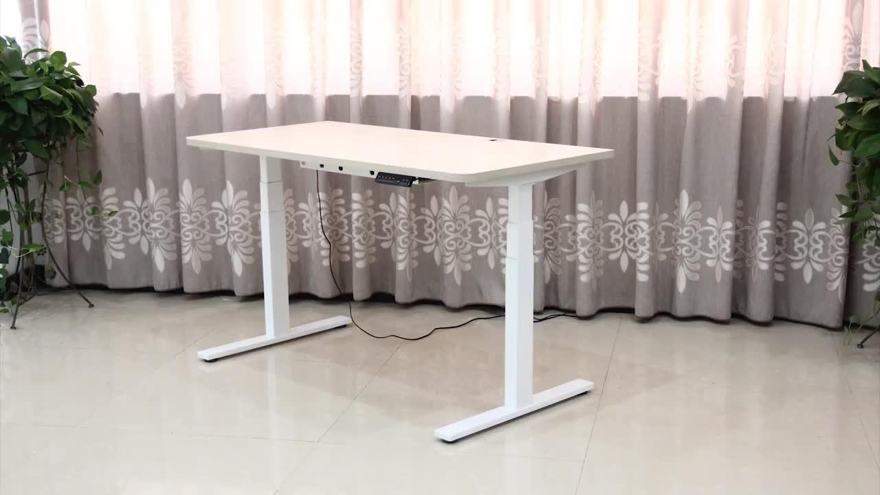Дешевые цены эргономичный стол двойной мотор электрический стоячий стол сидеть стенд стол