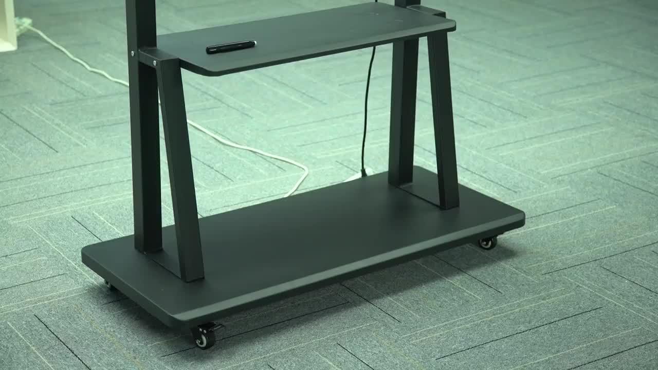 Professionele aangepaste IR touch screen smart tv 55 inch interactieve whiteboard Vroege onderwijs center interactief bord