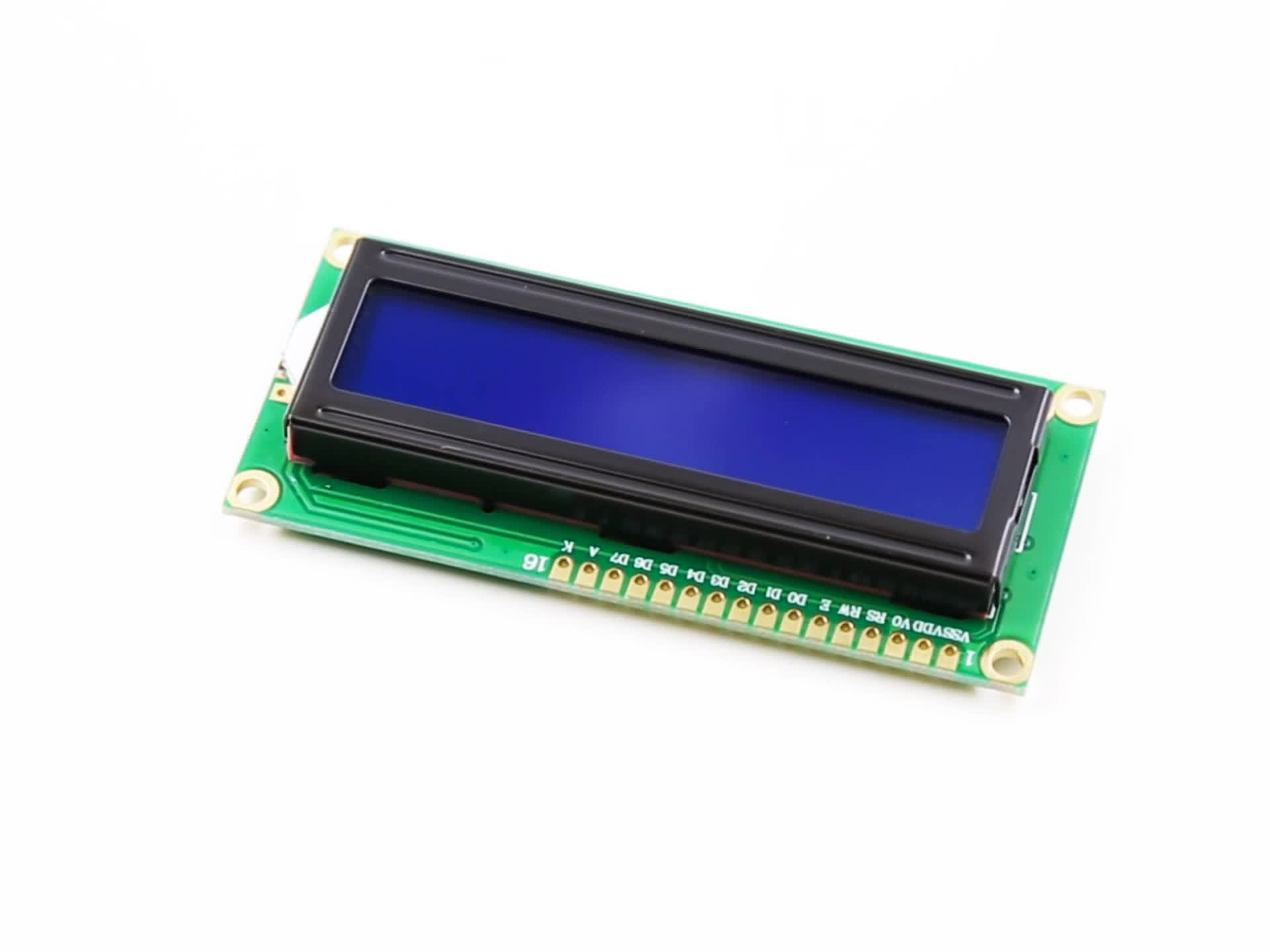 2019 LCD1602 Đèn Nền Màu Xanh IIC/I2C/TWI Nối Tiếp Module đối Uno R3